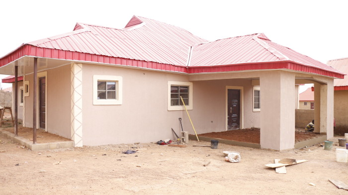 CONSTRUCTION OF 4 BEDROOM HOSTEL