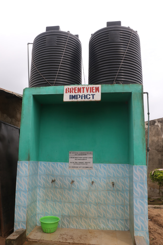 CONSTRUCTION OF DEEP WATER BOREHOLE