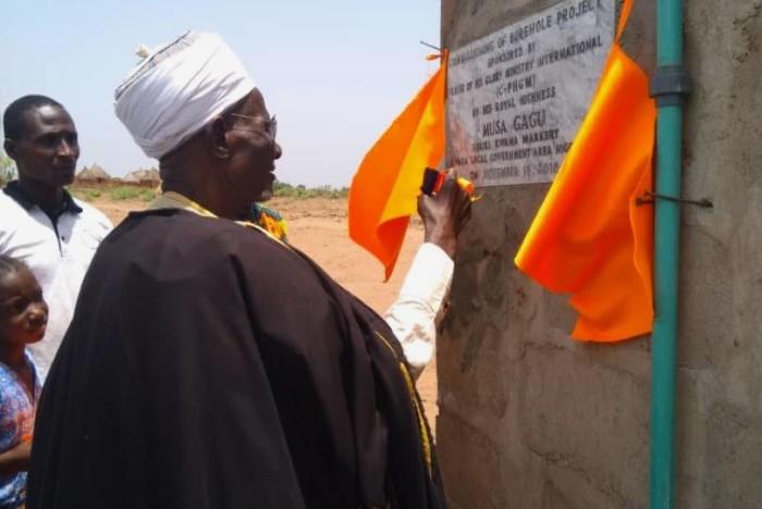 Borehole project - Kwana Community