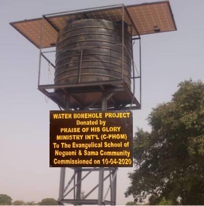 Water Borehole Project Sama Community, Burkina Faso - 2020