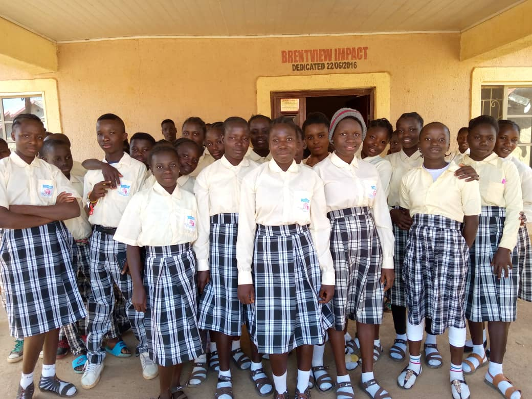 Orphanage children receive uniforms from PHGM-4
