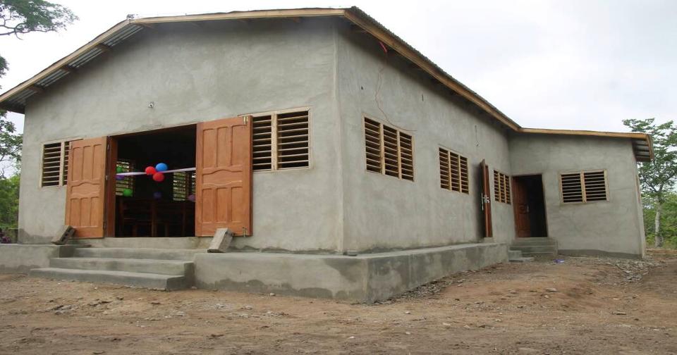Construction of Church building for Agao Community, Benin Republic - 2018