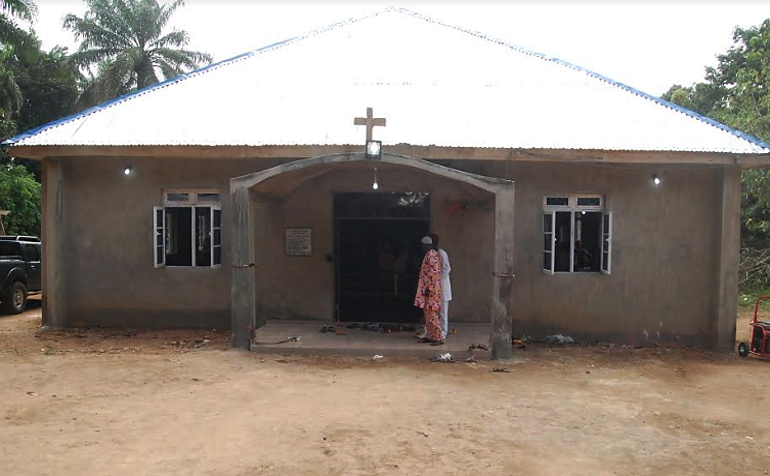 Construction of Church building for Jesus Mission, Osun State - 2019